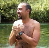 wet hairy wrestler swimming florida lagoon.jpg