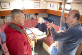 Talking ice with the captain of the USCGC Bertholf