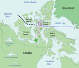 Polar Bound's 2012 route through the Northwest Passage