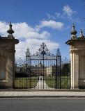 Trinity College - garden gate