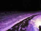 purple snow
