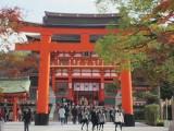 Entering the Fushimi Inari Shrine