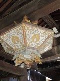 Brass lantern at Kiyomizudera Temple