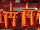 Miniature torii gates at the Fushimi Inari Shrine