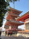 Pagoda at Kiyomizudera Temple, Kyoto