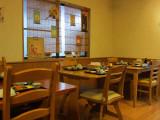 Breakfast room at our ryokan