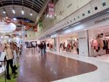 Shopping mall below the main Kyoto Station