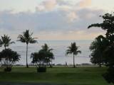 Early morning along the Esplanade