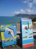 Hang-gliding site at Rex Lookout , north of Cairns