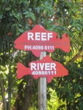 River and Reef - directions, Daintree