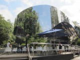 A wonderful concept - the mirrored gardens