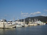 Big game fishing boats, Trinity Inlet