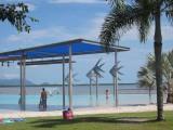 Cairns Lagoon, swimming beach