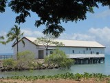 Sugar cane wharf,  Port Douglas
