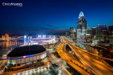 Cincinnati Skyline (Night)