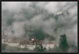 Morning Mist at Trongza Dzong and Watchtower