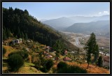 The Valley of Paro (West Bhutan).