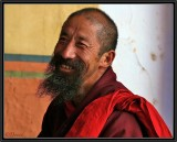A Happy Monk.