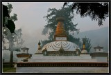 Early Morning Mist at Punakha.