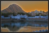 Sunset on the Sacred Lake - Pushkar.