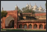 Inside the Red Fort - Agra.
