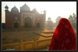 Early Morning. Jawab Mosque - Agra.
