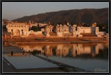 The Ghats of Pushkar.