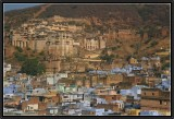 Bundi. View of the Old Town and Palace.