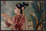 Chitra Shala Fresco : A Prince.