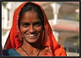 A Great Smile in Pushkar.