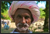 Portrait of a Shepherd. Ranakpur.