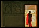 Into Khas Mahal - Agra.
