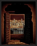 A Door With a View. Bikaner. (Triptych 1)