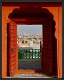 A Door With a View. Bikaner (Triptych 2)