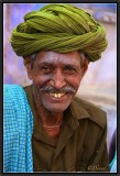 A Real Smile. Bundi Bazaar.