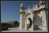 Memorial Jaswant Thada and Mehrangarh Fort. Johdpur.