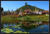 Tharkong Pagoda. South Part of Inle Lake.