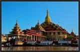 Phaung Daw Oo Pagoda. Inle Lake.