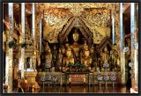 An Assembly of Buddhas. Wat Jonk Kham. Kengtung.