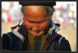 An Old Black Hmong. Sapa.