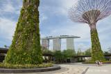 Facing Marina Bay Sands