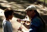 Music lessons in Central Park