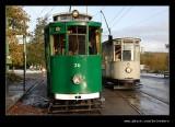 Trams 6 & 26, Beamish Living Museum