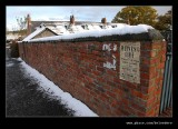 Pit Cottage in Snow #1, Beamish Living Museum