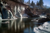 Winter along the Truckee River