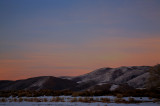 Twilight on Washoe Hills
