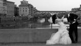 Florence. On A Leash