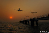 Sunset @ South Runway of HK Airport DSC_5086