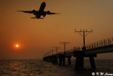 Sunset @ South Runway of HK Airport DSC_5081