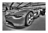 Cars BW HDR 3